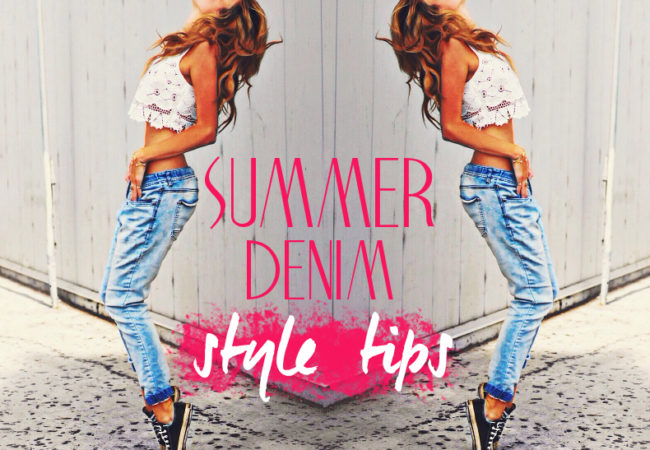 How to Wear Denim in the Summer