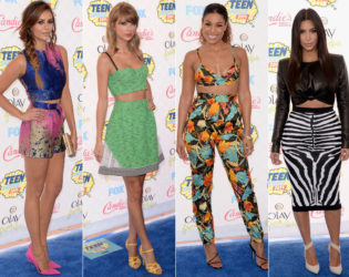 2014 Teen Choice Crop Tops