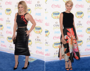 2014 Teen Choice Midi Skirts