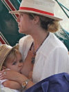 Selma Blair Breastfeeding