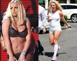 Britney Spears Stretch Marks And Cellulite