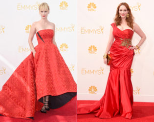 Emmys 2014 Red Dresses