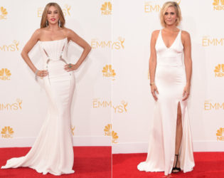 Emmys 2014 Sexy White Dresses