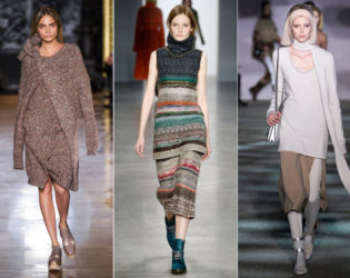 Fall 2014 Trends Layered Knits
