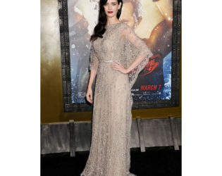 Eva Green Dress 300 Rise Of An Empire Premiere