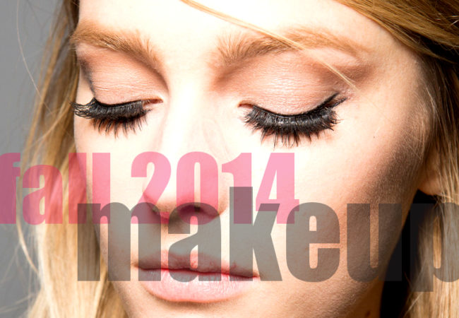 Fall 2014 Makeup Color Trends