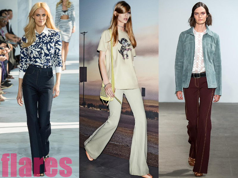 Flare Pants Best Spring 2015 Trends From New York Fashion Week