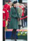 Kate Middleton Maternity Green Emilia Wickstead Coat