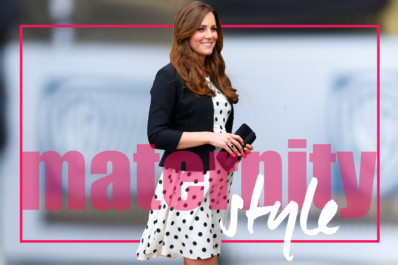 Kate Middleton Maternity Style Outfits