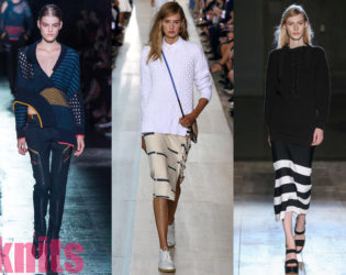 Knits Best Spring 2015 Trends From New York Fashion Week