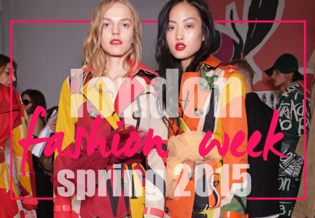 10 Spring 2015 Trends from London Fashion Week