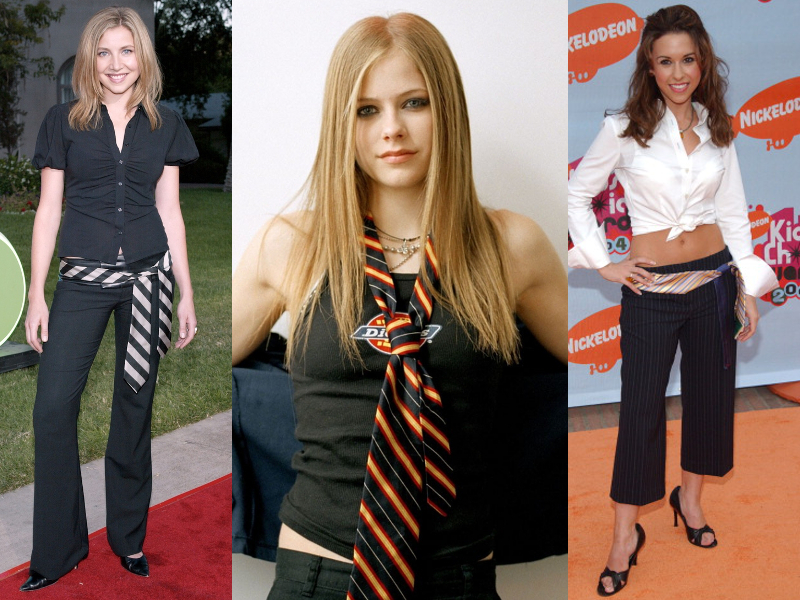 Neckties Worn As Belts Trend In 2004