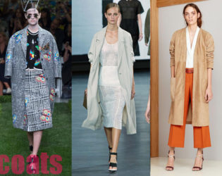 Oversized Coats Best Spring 2015 Trends From New York Fashion Week