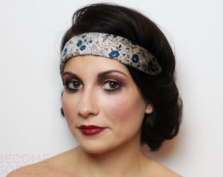 20s Hair And Makeup For Halloween