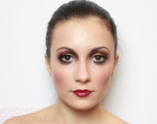 20s Halloween Makeup Tutorial Finished