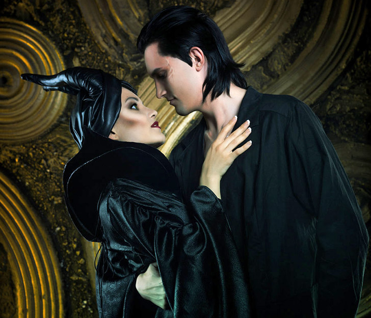 Maleficent And King Stefan Halloween