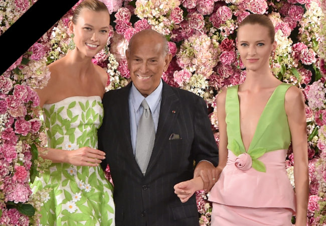 A Look Back at Oscar de la Renta's Best Dresses