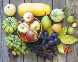 Healthy Fall Fruit And Veg