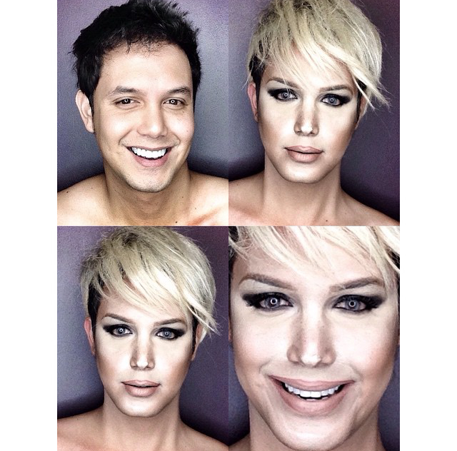 Man Transforms Into Jennifer Lawrence With Makeup