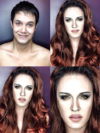 Man Transforms Into Kirsten Stewart As Bella With Makeup