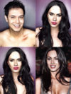Man Transforms Into Megan Fox With Makeup