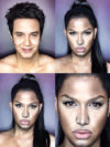 Man Transforms Into Nicki Minaj With Makeup