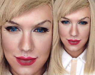 Man Transforms Into Taylor Swift With Makeup