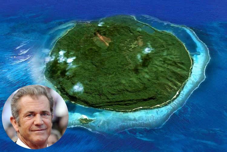 Mel Gibson Private Island