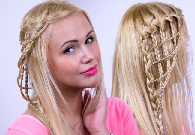 Modified Waterfall Braid Tutorial