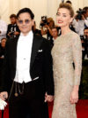 Johnny Depp And Amber Heard Stylish Couple