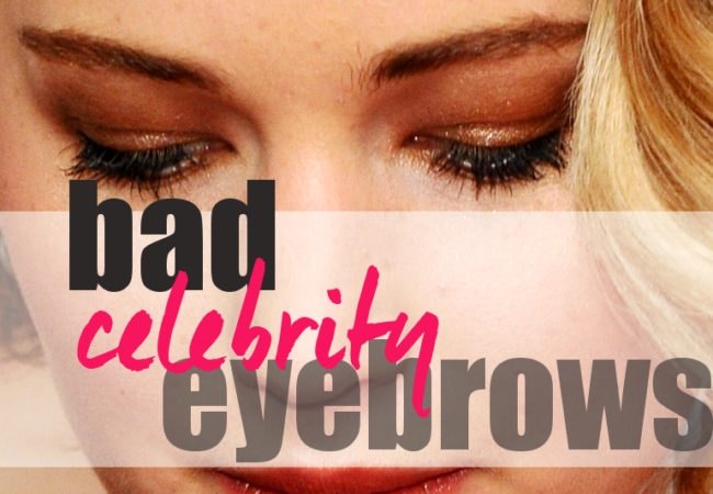 10 Celebrities with the Worst Eyebrows