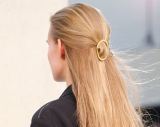 Half Back Hairstyles Spring 2015 Trends