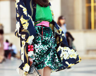 Mixing Prints Not A Fashion Faux Pas