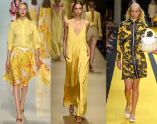 Yellow Color Spring 2015 Trend