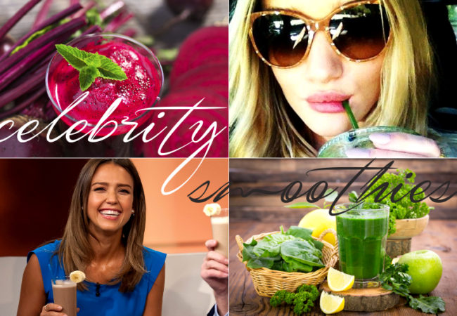 7 Celebrity Smoothie Recipes