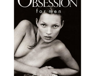 Kate Moss Calvin Klein Obsession 1993