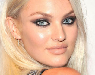 Bleached Eyebrows Candice Swanepoel