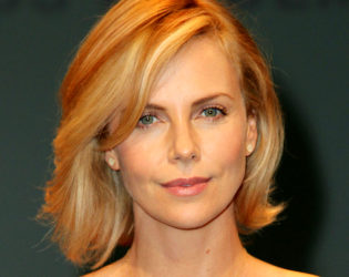 Charlize Theron Bob Haircut 2015