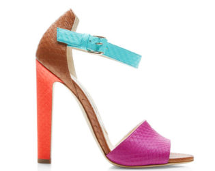 Colorblock Shoes Spring 2015 Trends