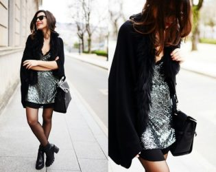 Dressing Down Silver Sequin Dress