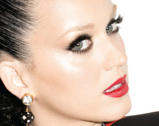 Katy Perry Bleached Eyebrows