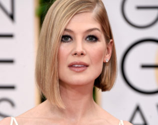 Rosamund Pike Bob Haircut 2015