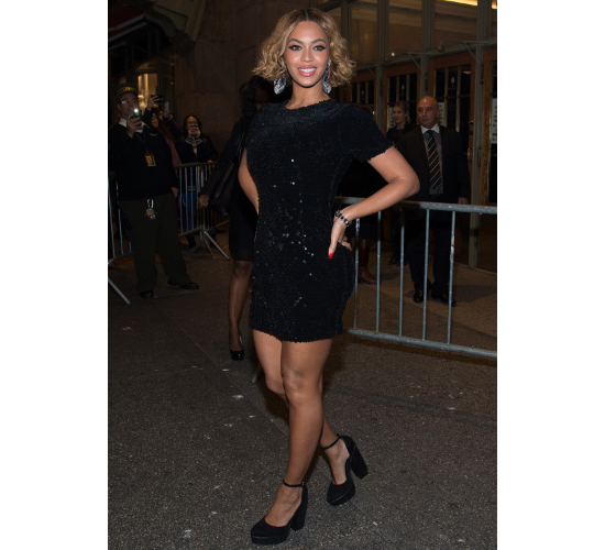 Unflattering Chunky Shoes Beyonce