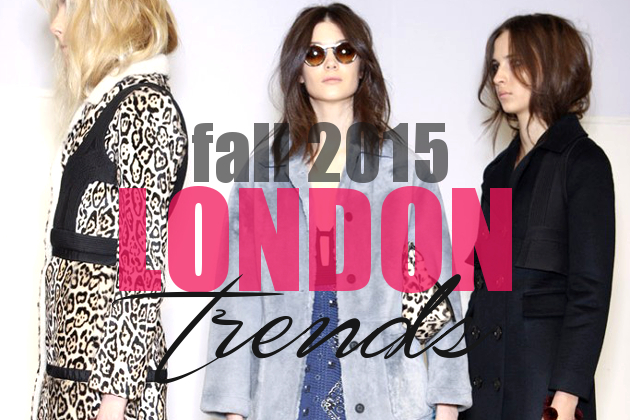 Best Trends from London Fashion Week Fall 2015