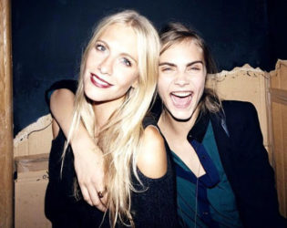 Poppy And Cara Delevingne Stylish Sisters