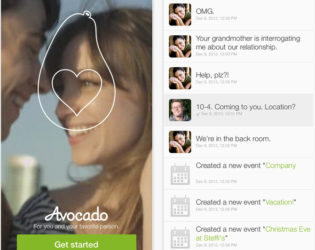 Avocado Chat App For Couples