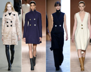 Big Button Trends Fall 2015 New York Fashion Week