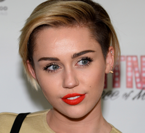 Miley Cyrus Undercut Hair
