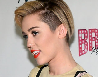 Miley Cyrus Undercut Hairstyle