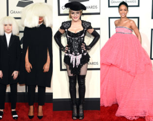 Over The Top Looks Grammys 2015